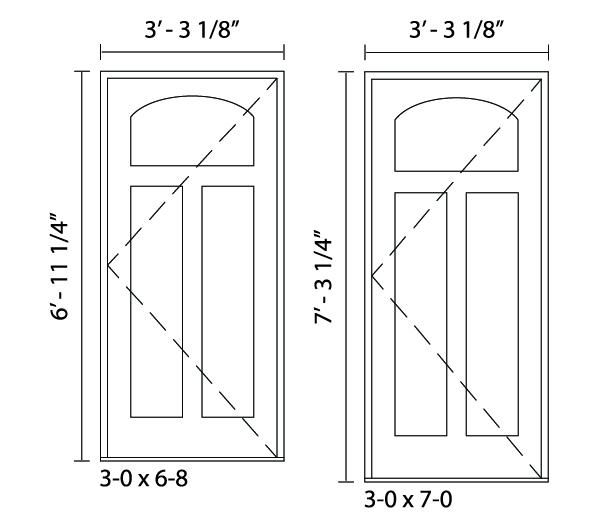 Alcott Door - Trudeau Windows and Doors