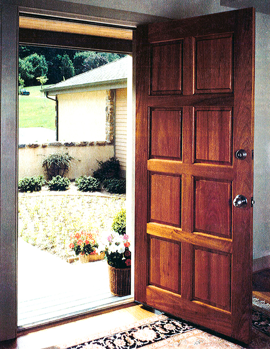 8 Panel Door Trudeau Windows And Doors