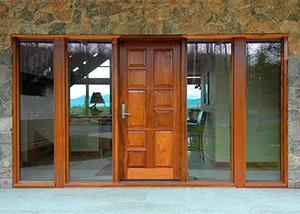 Mahogany Entry Doors - Trudeau Windows and Doors