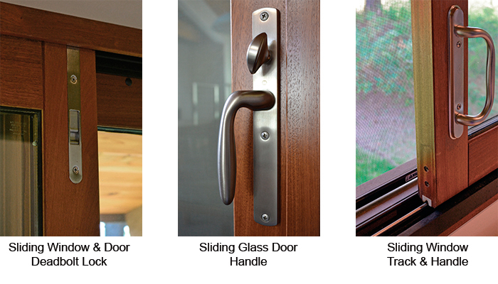 Sliding Glass Door and Sliding Window Hardware - Trudeau Windows and Doors